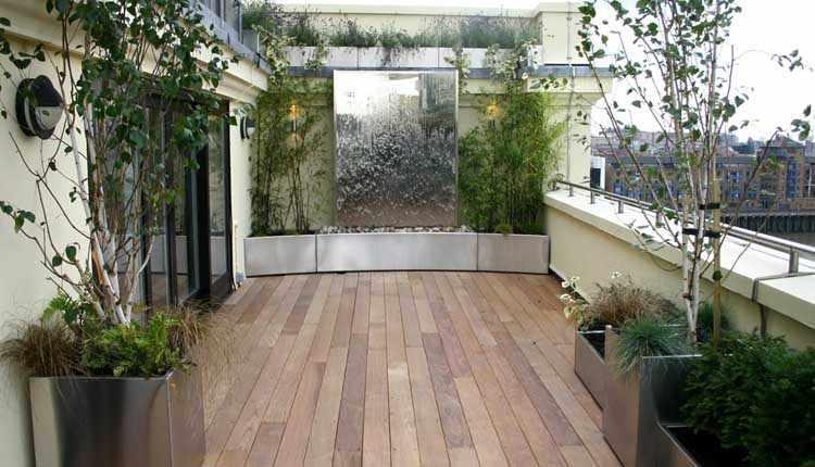 Jardines Pequeos Modernos Con Piedras Diseo De Jardines Modernos - Jardines-pequeos-modernos