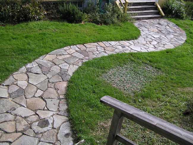 Recomendaciones de senderos para jardines for Baldosas para el jardin