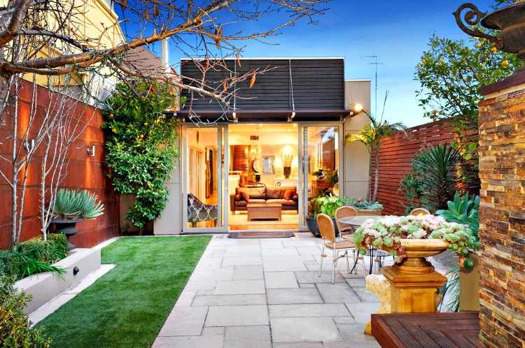 Dise o de jardines peque os for Jardines pequenos y baratos