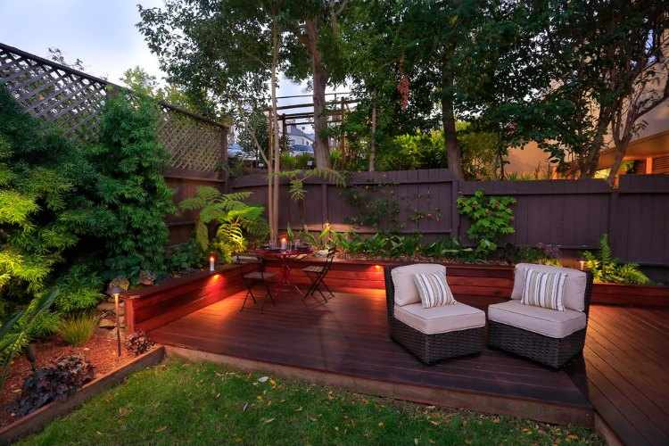 diseo de jardines interiores pequeos decoracion para jardines pequeos - Decoracion Jardines Pequeos