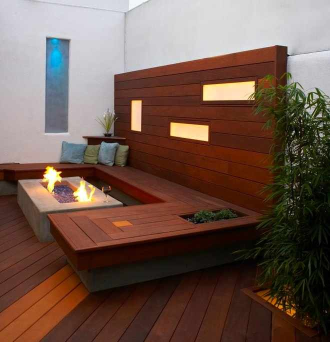 Dise o de jardines peque os - Diseno de jardines interiores pequenos ...