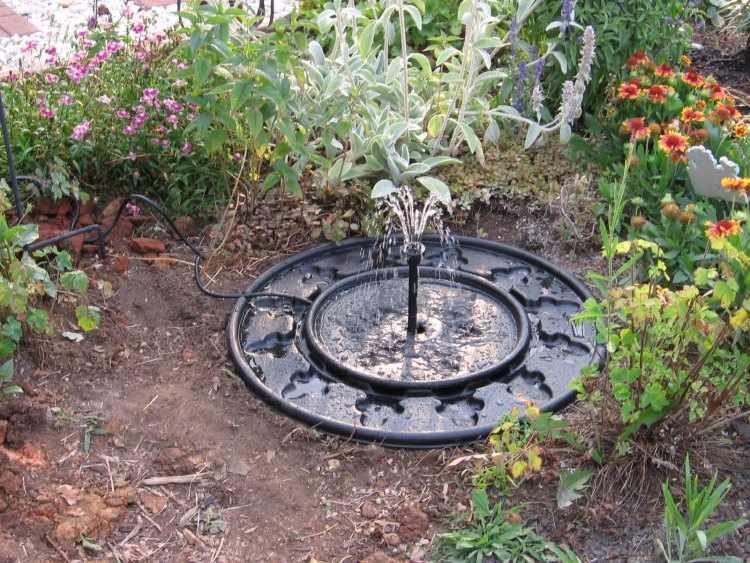Fuentes de agua para jardines peque os for Construir una fuente de jardin