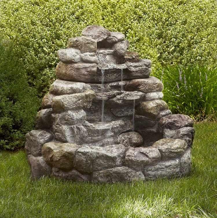 Fuentes de agua para jardines peque os - Fuentes y cascadas de agua para jardin ...