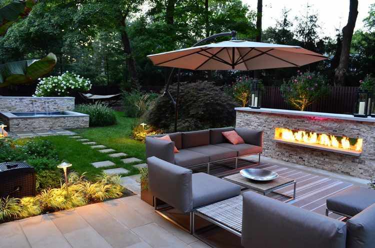 diseo de jardines exteriores para espacios pequeos