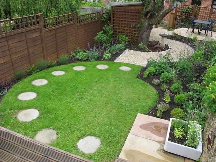 diseño de jardines pequeños con piedras