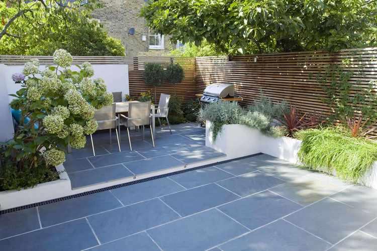 jardines pequeos con piedras jardines en patios