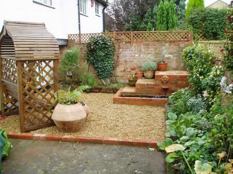 Decoracion de jardines peque os con adornos for Adornos para el jardin