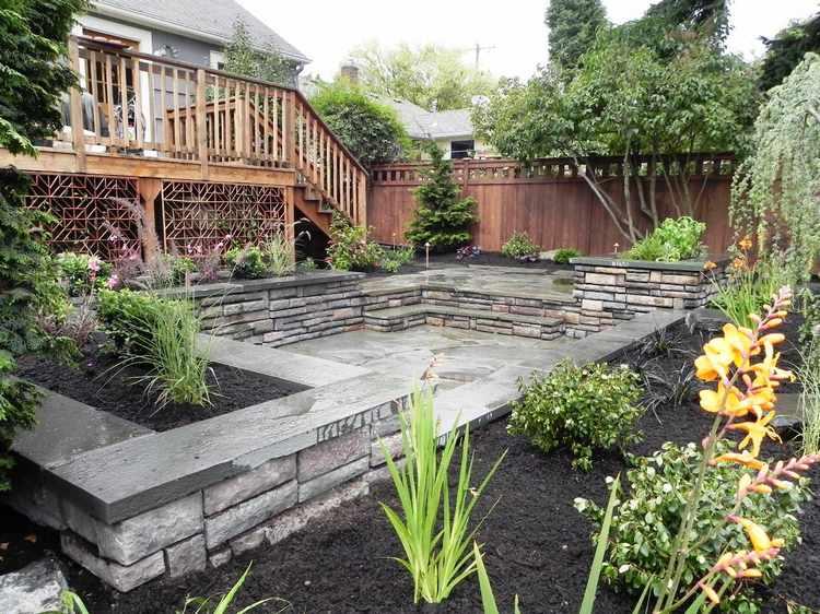 adornos para patios de casas