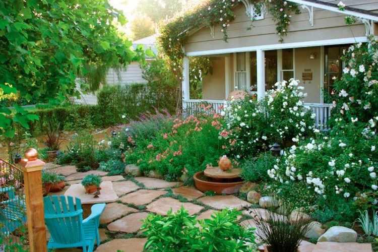 decoracion de jardines pequeños exteriores