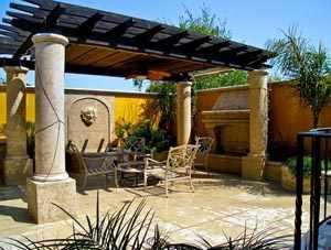 Decorar un patio estilo rustico