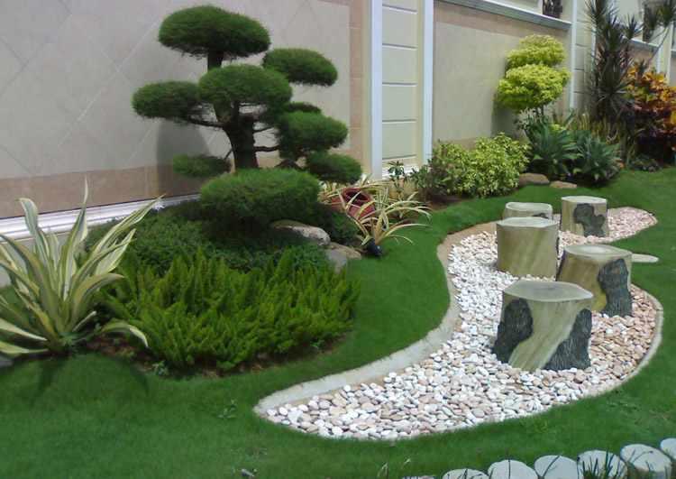 Dise o de jardines minimalistas fotos ideas y trucos - Iluminacion de jardines modernos ...