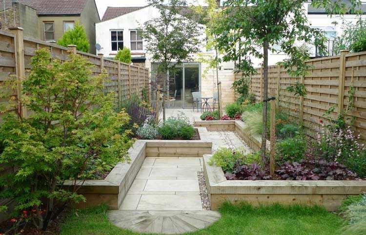 decorar jardines minimalistas