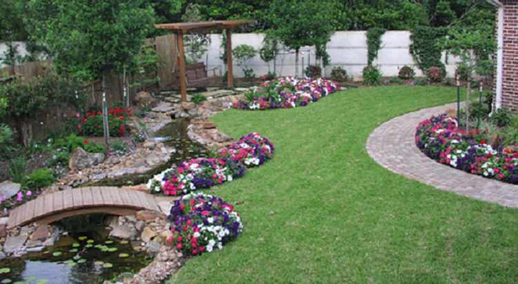 diseño de jardines minimalistas para casas