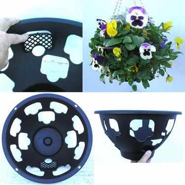 como hacer cestas colgantes para plantas