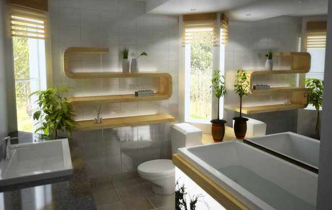 plantas interior para cuartos baño