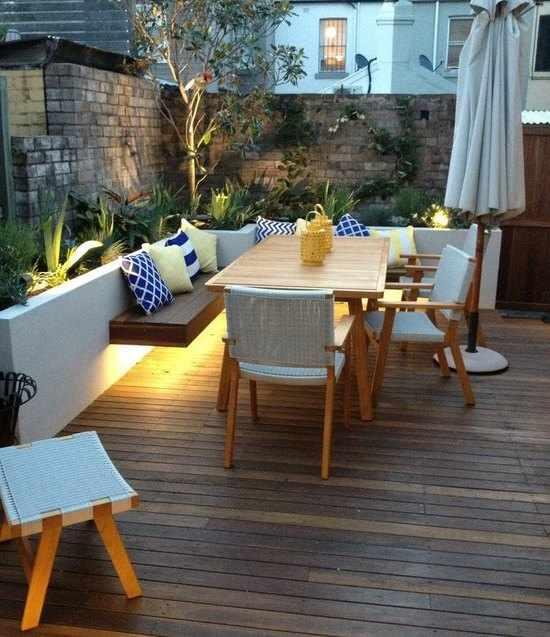 Dise o de jardines peque os como decorarlos con encanto - Accesorios para jardines pequenos ...