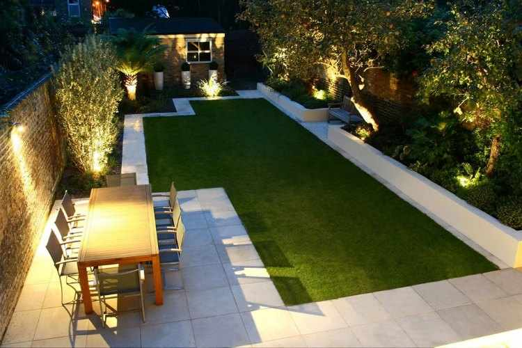 jardines minimalistas pequeños
