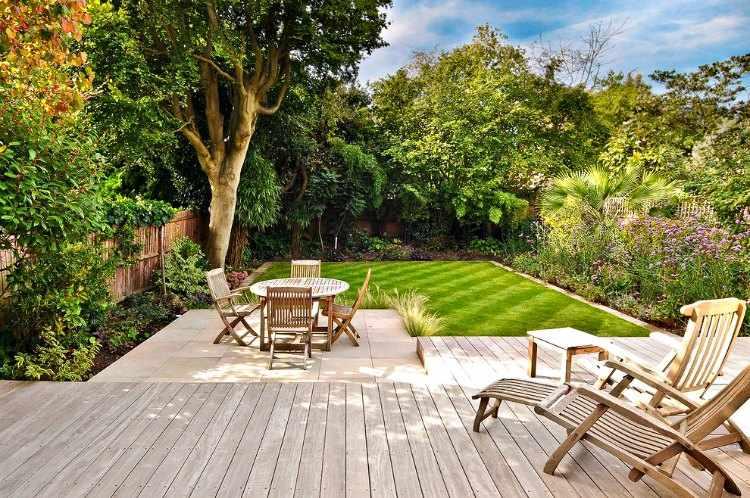 Dise o de jardines peque os como decorarlos con encanto for Jardines pequenos pegados a la pared