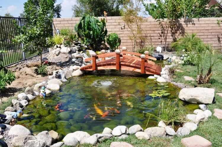 Puente de madera para jardin para estanque modelos tipos for Vater japones