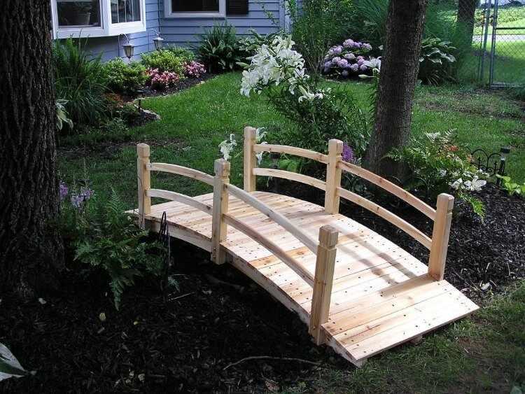 puentes decorativos jardines