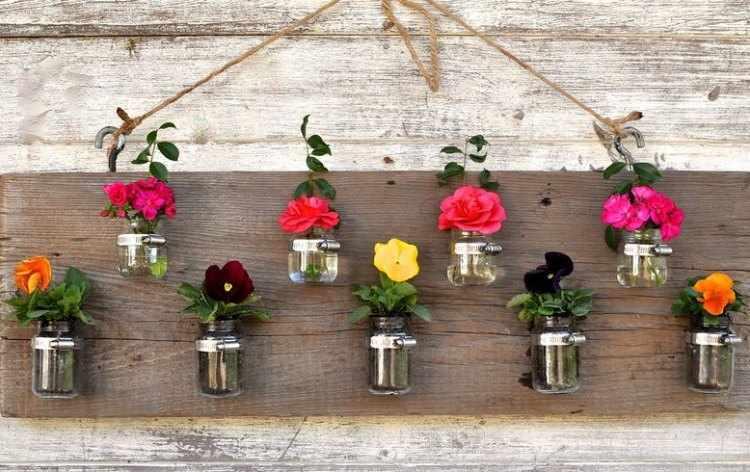 Como hacer macetas caseras con material reciclado tutorial - Jardineras de madera caseras ...