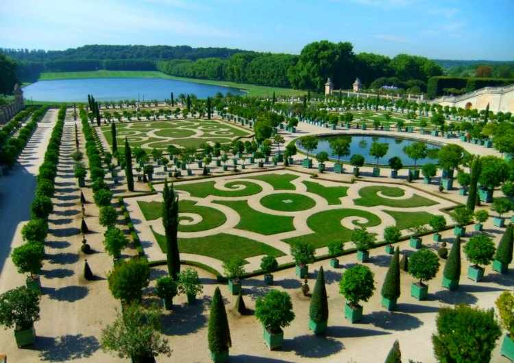 jardin frances caracteristicas