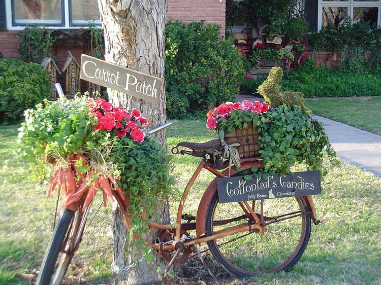 Decoracion de jardines rusticos - Diseños, fotos e ideas