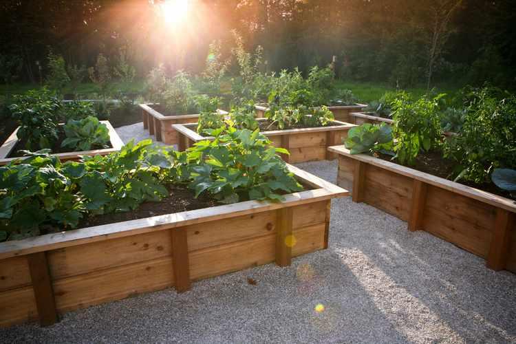Jardines Rusticos Sencillos. Ideas Con Ladrillos Para El Jardn ...