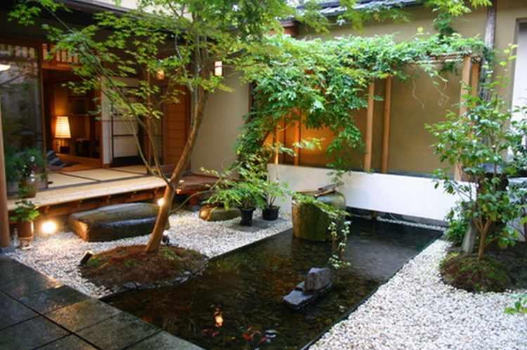 Jardines Pequenos Con Encanto Disenos Y Decoracion - Decoracion-jardines-pequeos