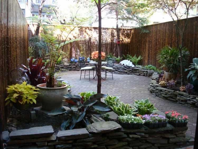 ideas para decorar un jardin pequeño con plantas