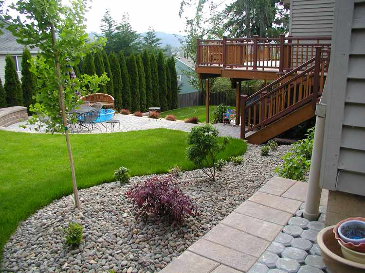Suelos Para Jardines Pequeos Affordable Como Dise Ar Un Parterre En - Suelos-para-jardines-pequeos