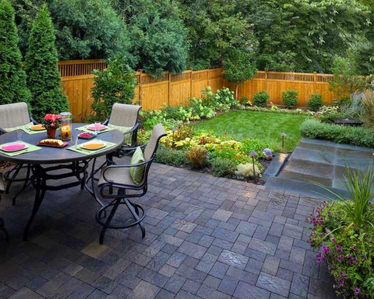 jardines pequeños modernos