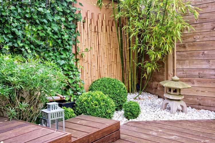 modelos de jardines exteriores pequeños