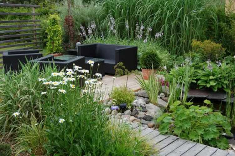 pequeños jardines en casa